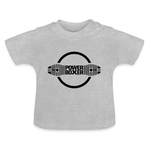 Motorrad Fahrer Shirt Powerboxer - Baby T-Shirt