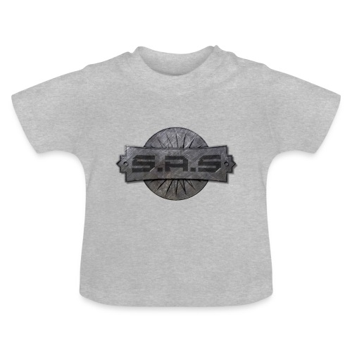 metal background scratches surface 18408 3840x2400 - Baby T-shirt