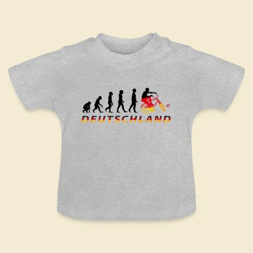Radball | Evolution Deutschland - Baby T-Shirt