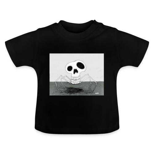 skull spider - Baby-T-shirt