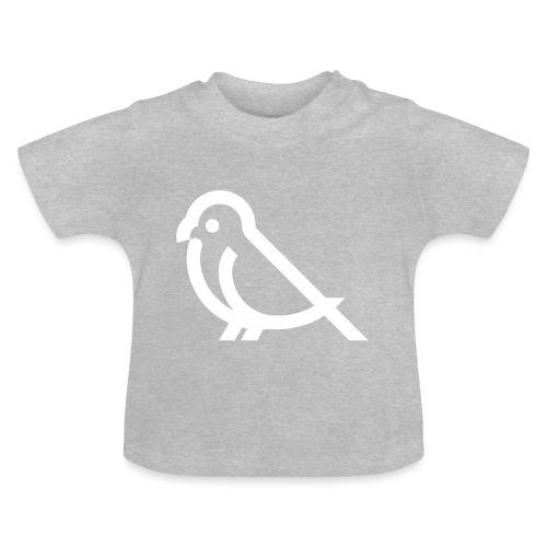 bird weiss - Baby T-Shirt