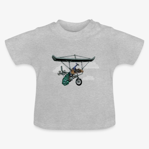 Flight of the Peacock - Baby T-Shirt
