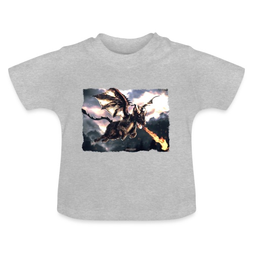 Canis Draconi Terrier - Fireball - Baby T-shirt