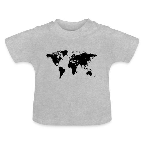 World Map - Baby T-Shirt