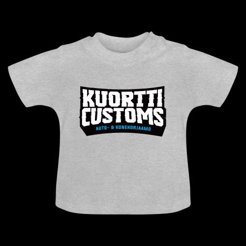kc pikselilogo - Vauvan t-paita