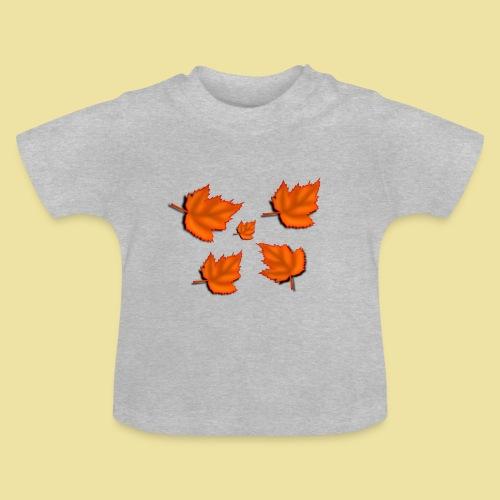 Herbstblätter - Baby T-Shirt