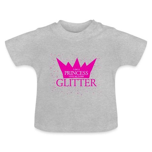 Glitzer für die Prinzessin - Baby T-Shirt