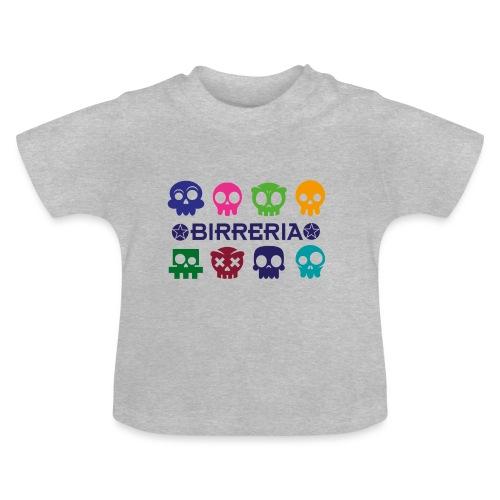 Kids color Skulls - Baby T-Shirt