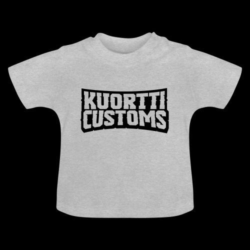kuortti_customs_logo_main - Vauvan t-paita