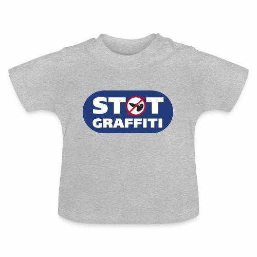 støt graffiti - blk logo - Baby T-shirt