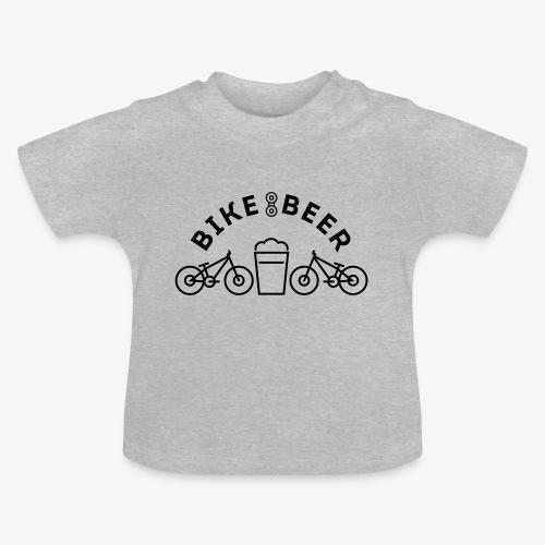 bike & beer - T-shirt Bébé