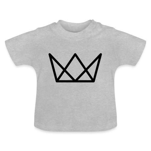 TKG Krone schwarz CMYK - Baby T-Shirt