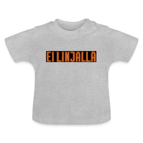 EI LINJALLA - Vauvan t-paita