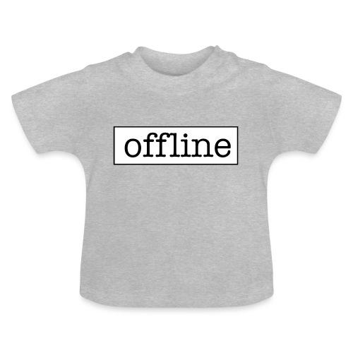 Officially offline - Baby T-shirt