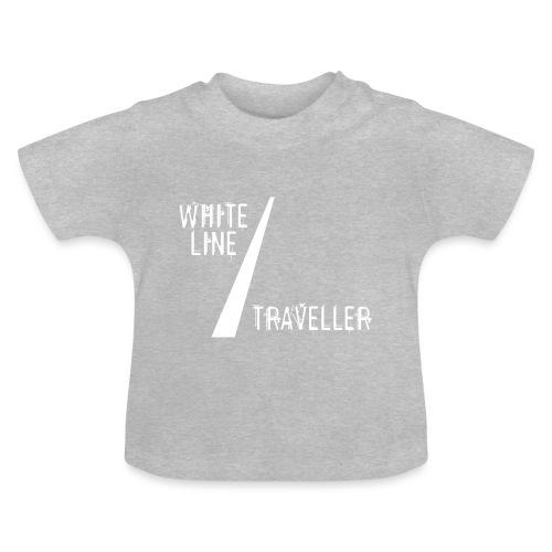 white line traveller - Baby T-shirt