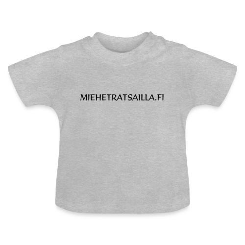 miehetratsailla - Vauvan t-paita