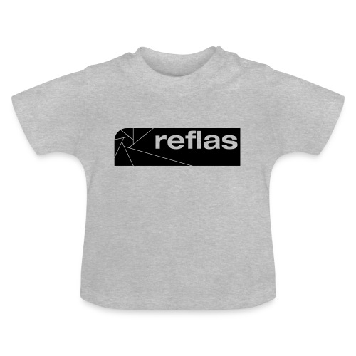 Reflas Clothing Black/Gray - Maglietta per neonato