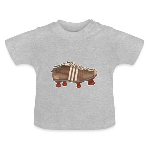Vintage Fussbalschuhe / Soccer Shoes - Baby T-Shirt