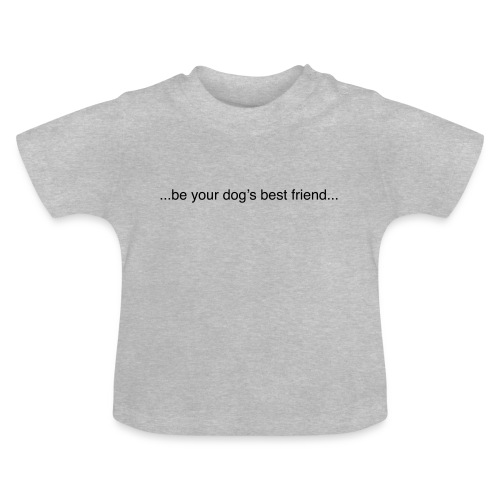 GoodBad svart CMYK (1) - Baby T-Shirt