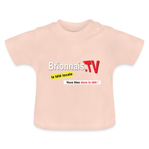 BTV logo shirt dos - T-shirt Bébé