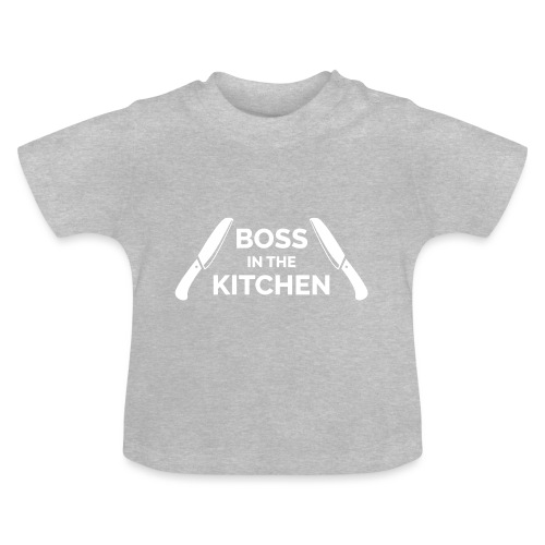Boss in the Kitchen - Baby T-Shirt