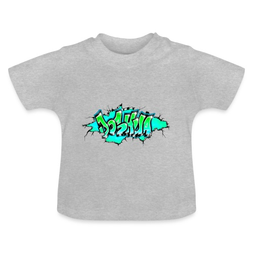 GRAFFITI JOSHUA PRINTABLE WALL BROKE - T-shirt Bébé