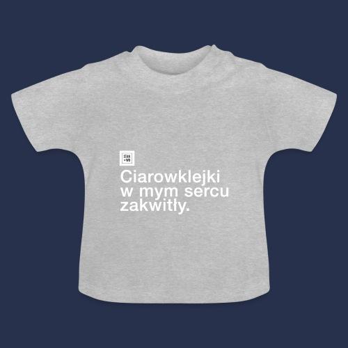 CIAROWKLEJKI - jasne - Koszulka niemowlęca