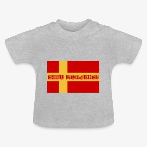 Sidu morjens! flagga - Baby-T-shirt