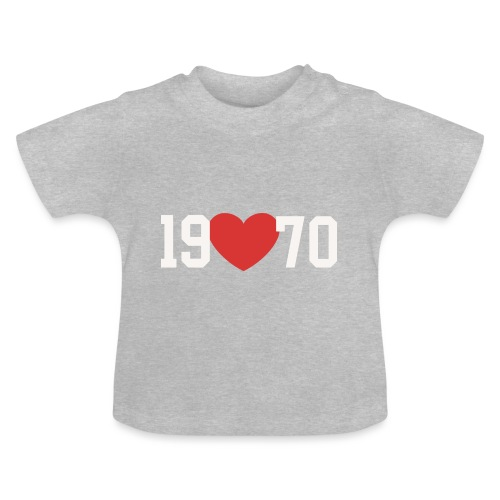 19 heart 70 - Baby T-Shirt