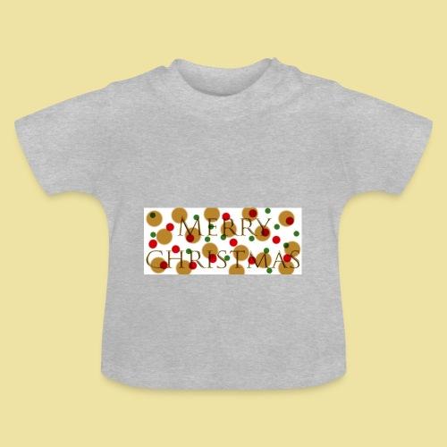 merry-christmas Logo Geschenk - Baby T-Shirt