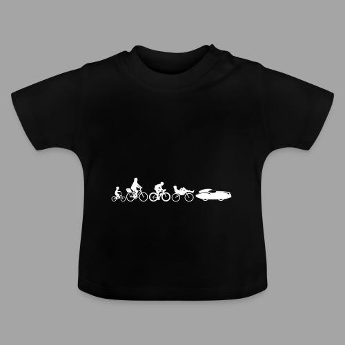 Bicycle evolution white Quattrovelo - Vauvan t-paita