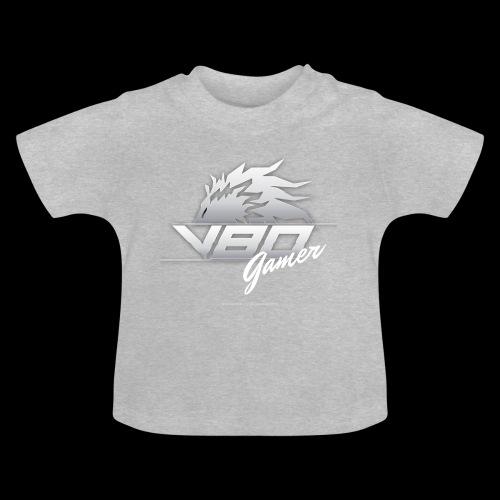 logo lionheartv80 chiaro trasparente - Maglietta per neonato