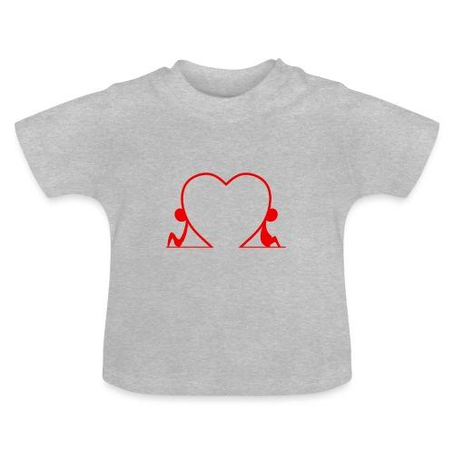 Distanti, ma vicini... RED - Maglietta per neonato