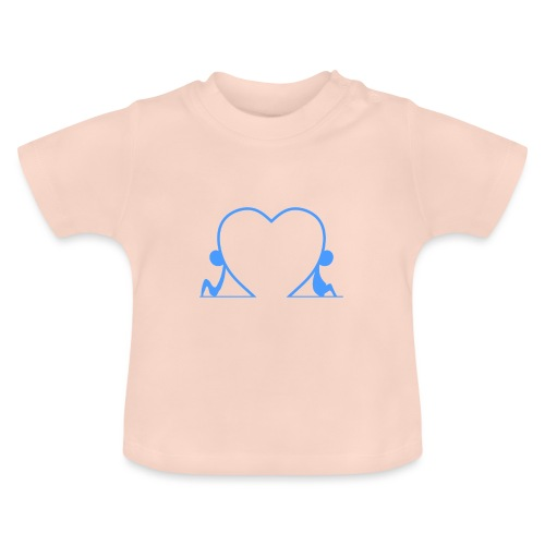 Distanti, ma vicini... LIGHT BLUE - Maglietta per neonato