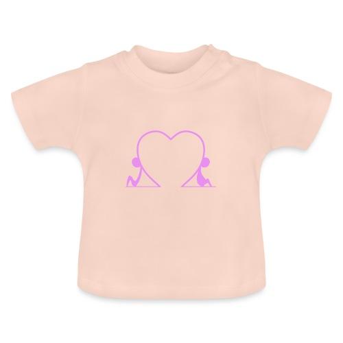 Distanti, ma vicini... PINK - Maglietta per neonato