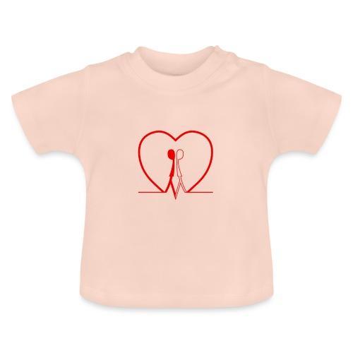 Non aver paura dell'uguaglianza... Man man RED - Maglietta per neonato