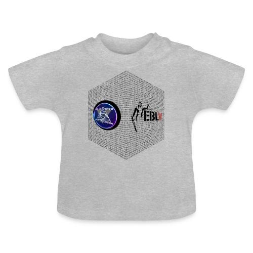 disen o dos canales cubo binario logos delante - Baby T-Shirt