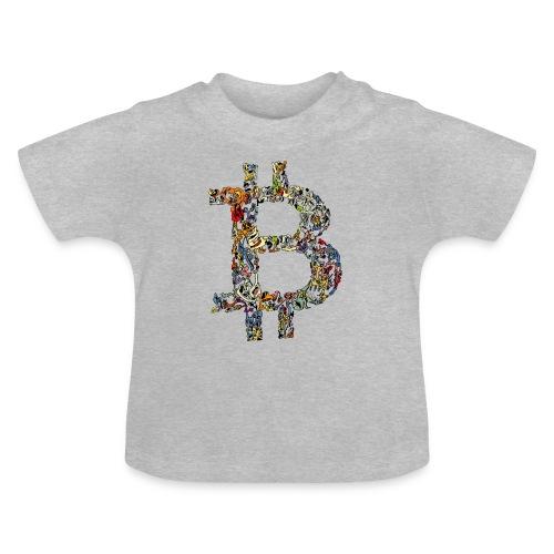 BITCOIN logo color - Baby T-shirt