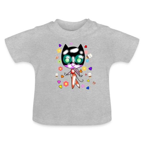 Chatte sage - T-shirt Bébé