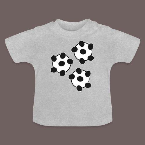 GBIGBO zjebeezjeboo - Fun - Wiggle Wiggle 01 Noir - T-shirt Bébé
