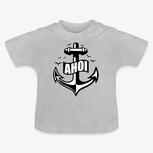 104 Ahoi Anker Möwen maritim - Baby T-Shirt