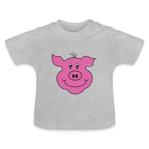 S33 Kids Schwein - Baby T-Shirt