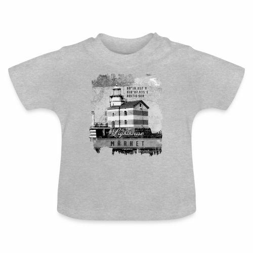 Märket majakkatuotteet, Finland Lighthouse, Harmaa - Vauvan t-paita