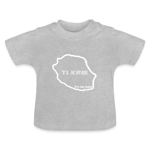 Ti krim - blanc - T-shirt Bébé