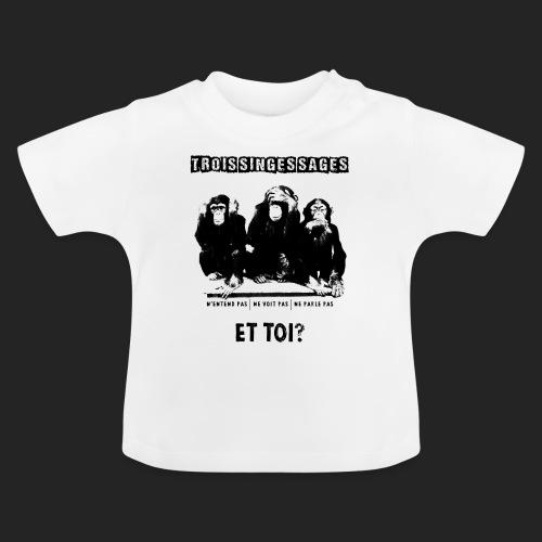 Three wise monkeys - T-shirt Bébé