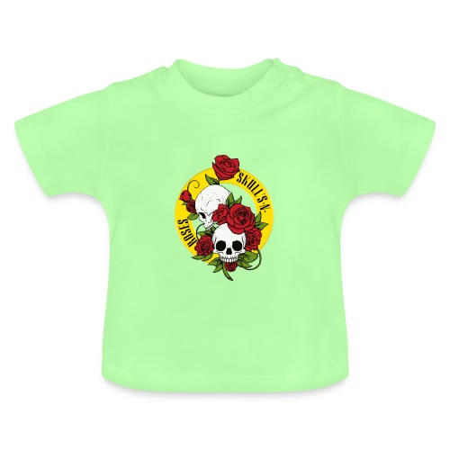 SKULL'S N ROSES - Camiseta bebé