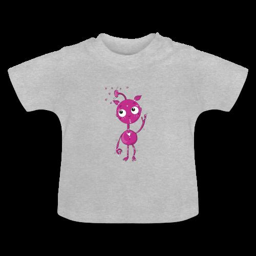 Kleines außerirdisches Mädchen - Baby T-Shirt