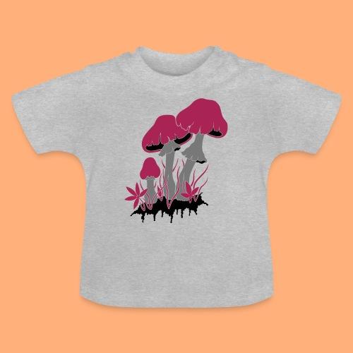 champignons - T-shirt Bébé