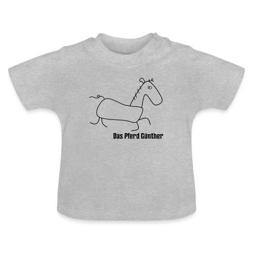 Das Pferd Günther - Baby T-Shirt