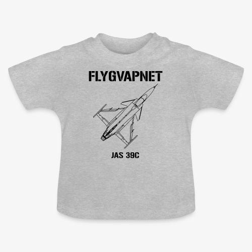Flygvapnet JAS 39C - Baby-T-shirt